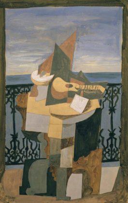 Pablo Picasso-Nature Morte Devant Une Fenetre-1919