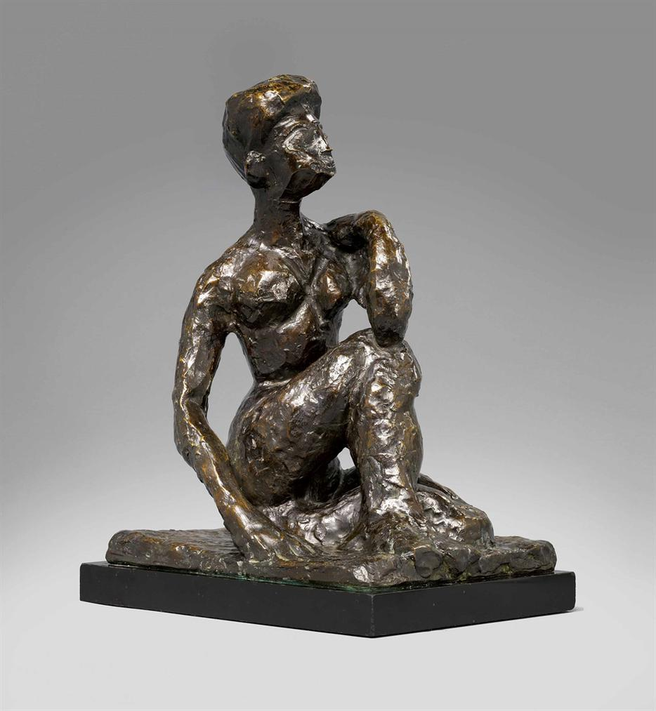 Henri Matisse-Grand Nu Accroupi (Olga)-1952