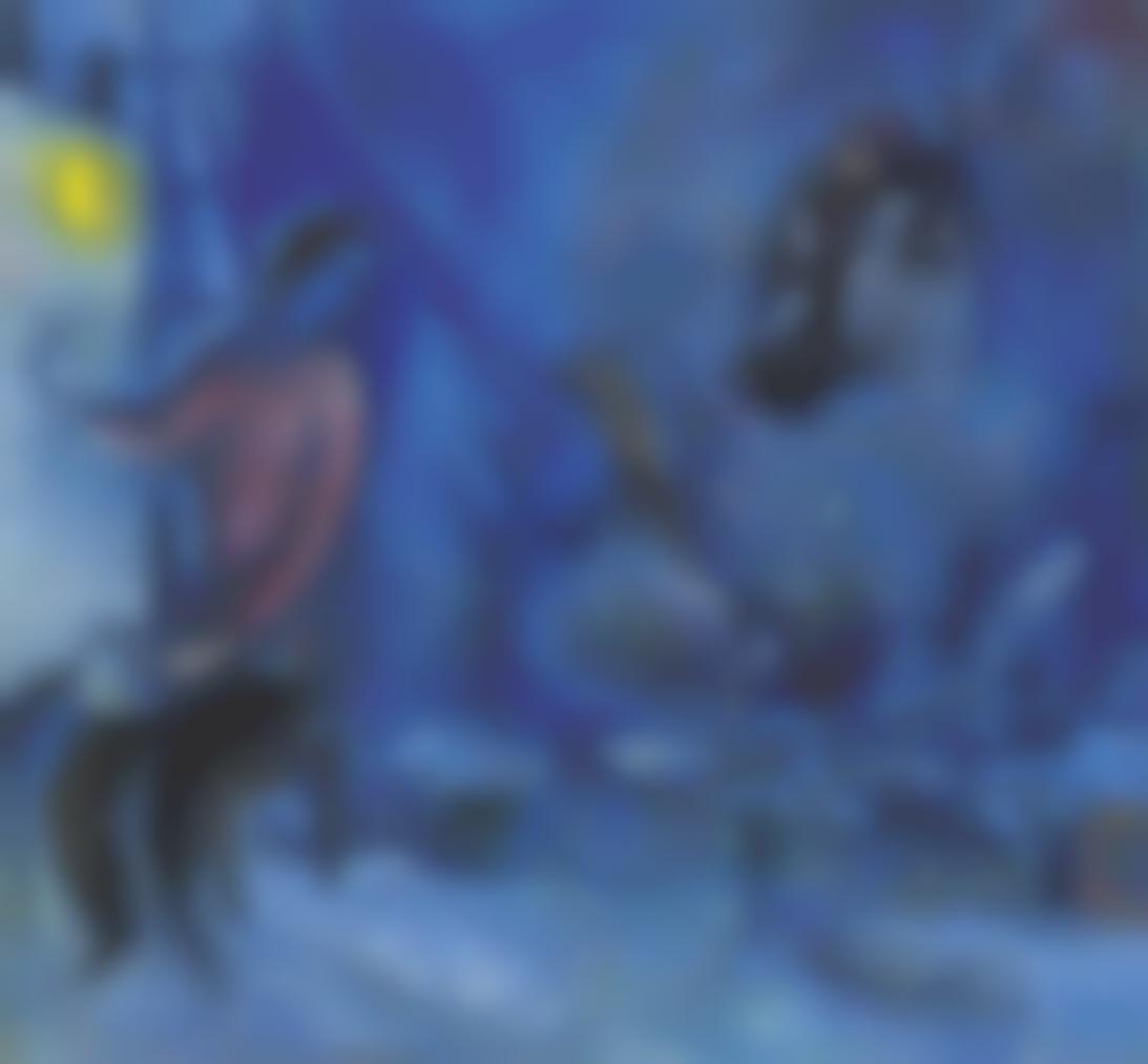 Marc Chagall-Hommage Au Passe Ou La Ville-1944