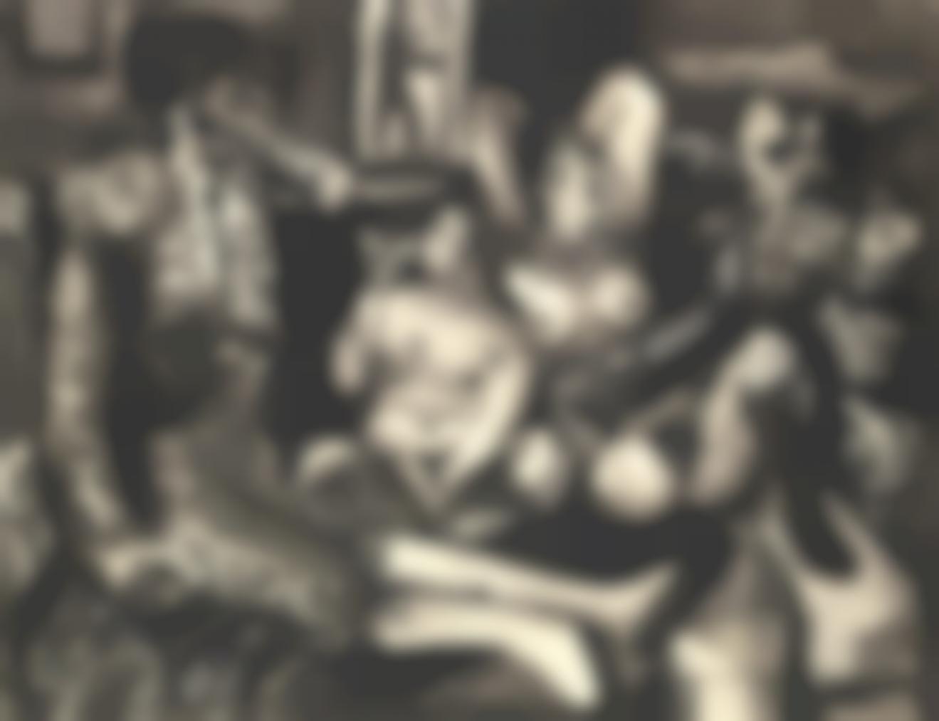 Pablo Picasso-Courtisanes Et Toreros-1959