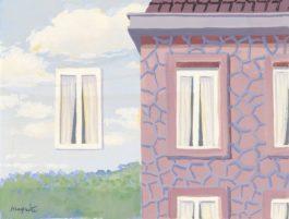 Rene Magritte-Letat De Veille-1958