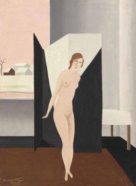 Rene Magritte-Nu-1925