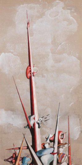 Yves Tanguy-Sans Titre (Taille De Guepe)-1945