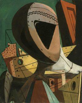 Giorgio de Chirico-Testa Di Manichino-1917