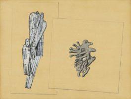 Max Ernst-Colombes Et Corail (Oiseaux Et Madrepore)-1932