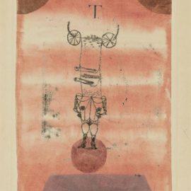 Paul Klee-Weibsteufel, Die Welt Beherrschend. (She-Devil, Dominating The World)-1921