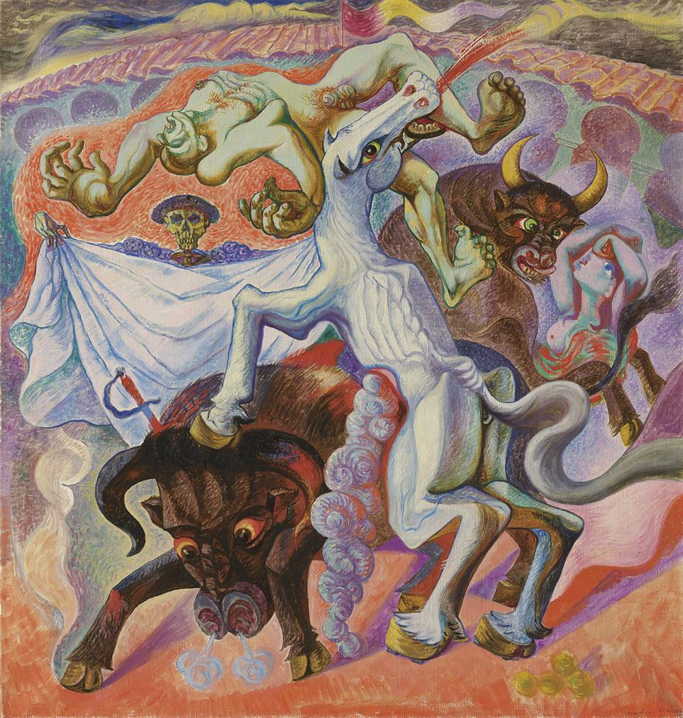 Andre Masson-Corrida Mythologique-1936