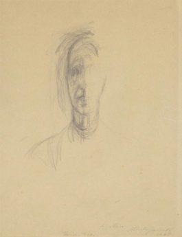 Alberto Giacometti-La Mere De Lartiste-1948