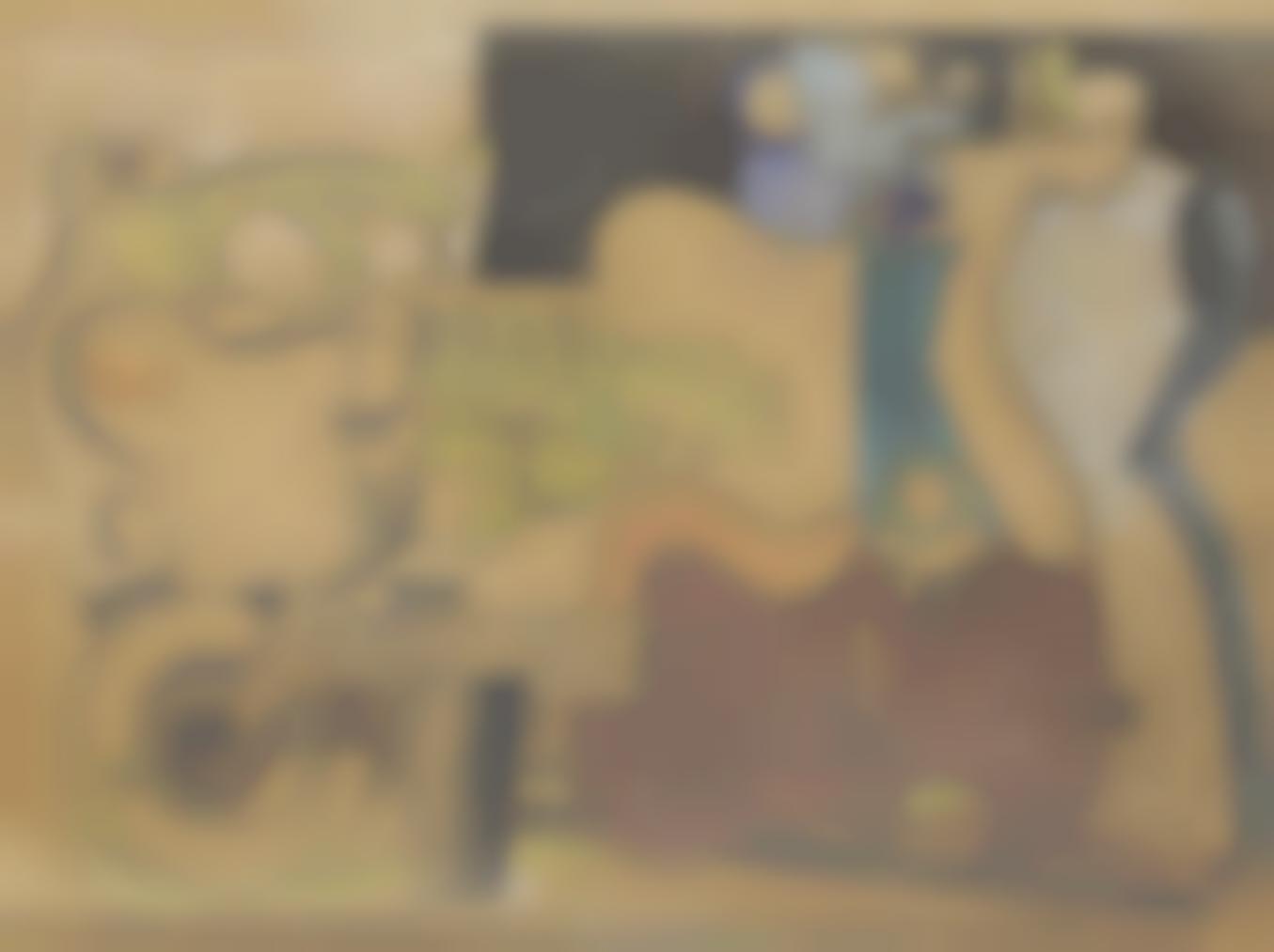 Le Corbusier-Etude Pour La Guitare Et Le Mannequin-1927