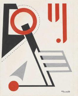 Lajos Kassak-Composition-1960