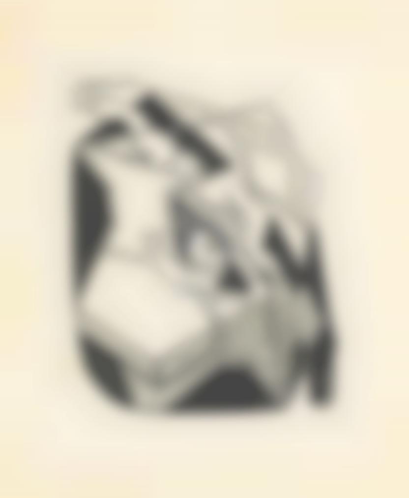 Juan Gris-Nature Morte Au Compotier Et Violon (Denise)-1925