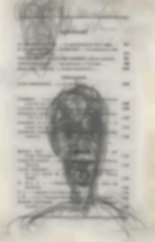 Alberto Giacometti-Tetes (Recto); Figure (Verso)-1949