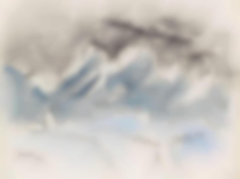 Lyonel Feininger-Snow-1949