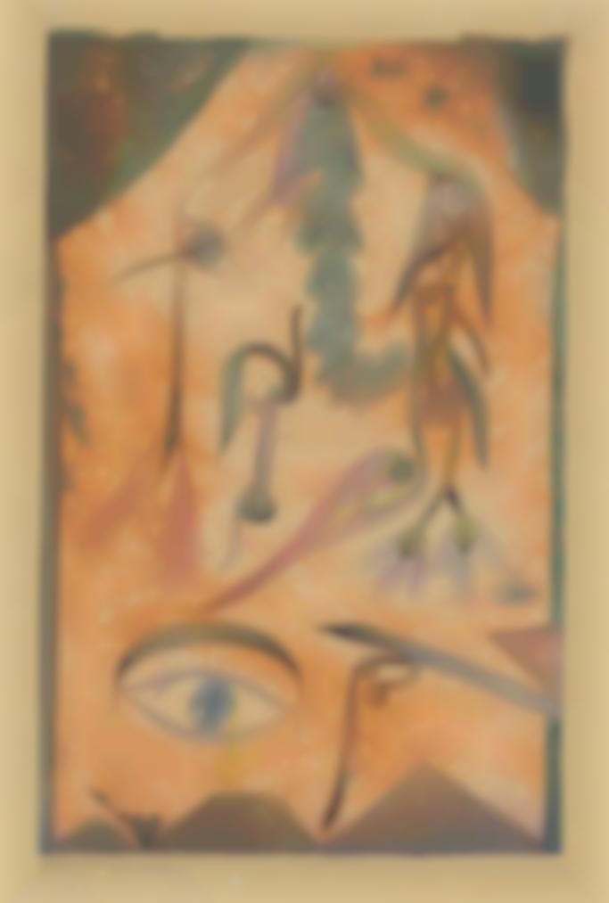 Paul Klee-Trauerblumen (Mourning Flowers)-1917