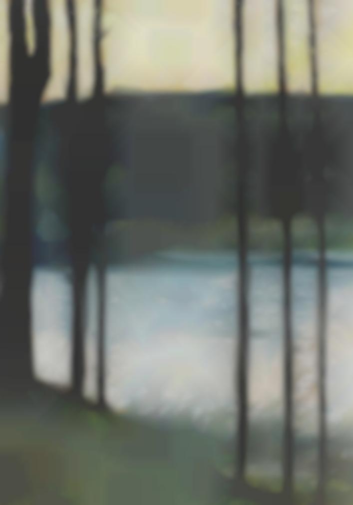 Lesser Ury-Abendstimmung An Einem See Im Grunewald-1890