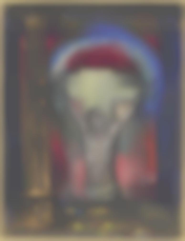 Odilon Redon-Le Crucifix-