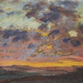 Claude Monet-Coucher De Soleil-1868