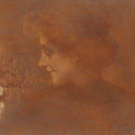 Lucien Levy-Dhurmer-Portrait Disolde-1899