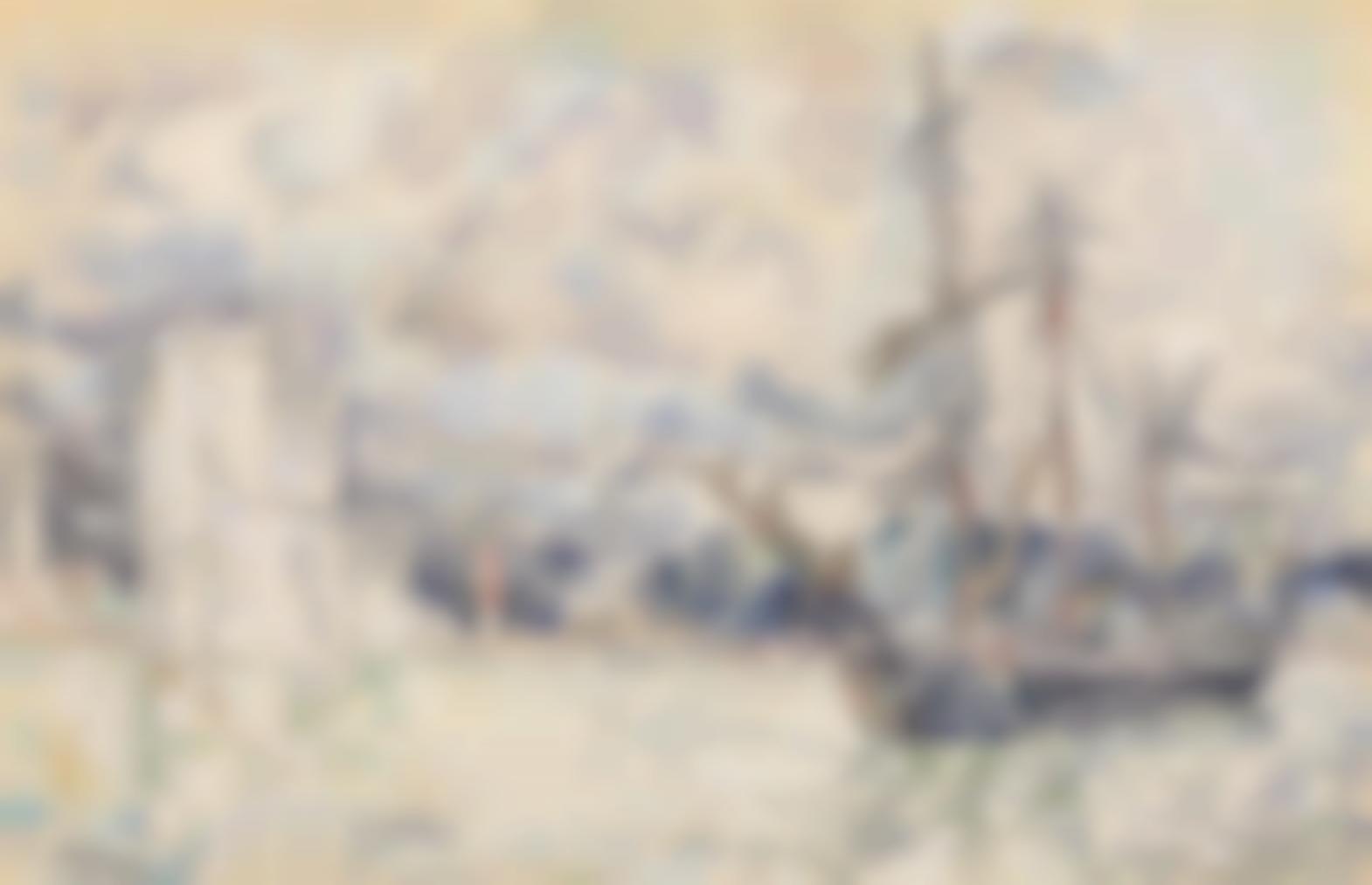 Paul Signac-La Rochelle-1925