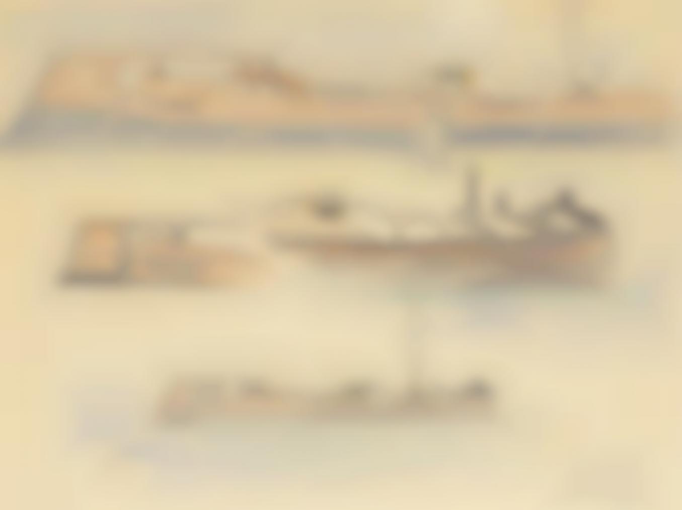 Alfred Sisley-Etude De Peniches Sur Le Loing-
