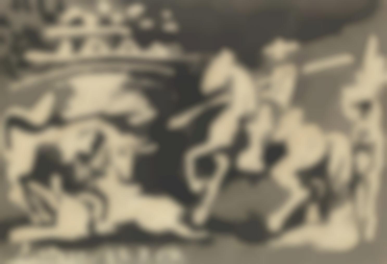 Pablo Picasso-Scene De Tauromachie-1959