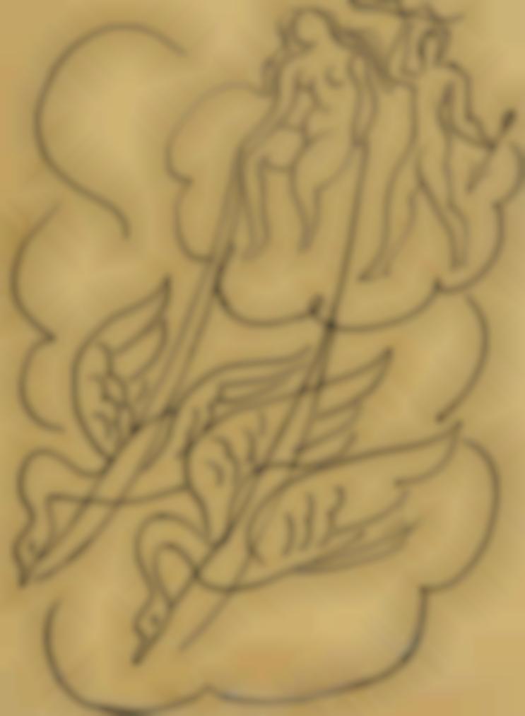 Henri Matisse-Le Char De Venus-1942