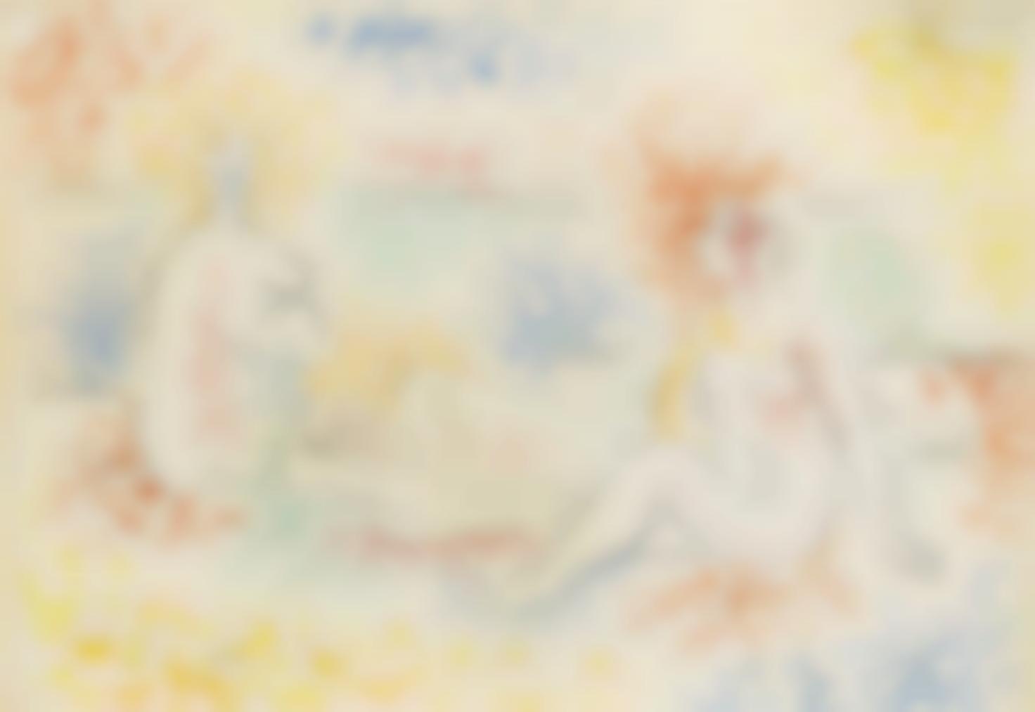Pablo Picasso-Trois Baigneuses Sur La Plage-1921