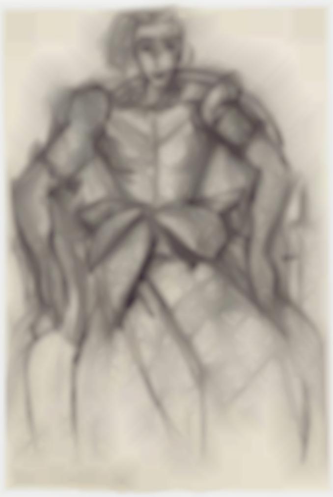 Henri Matisse-Femme Assise A La Robe De Taffetas-1938