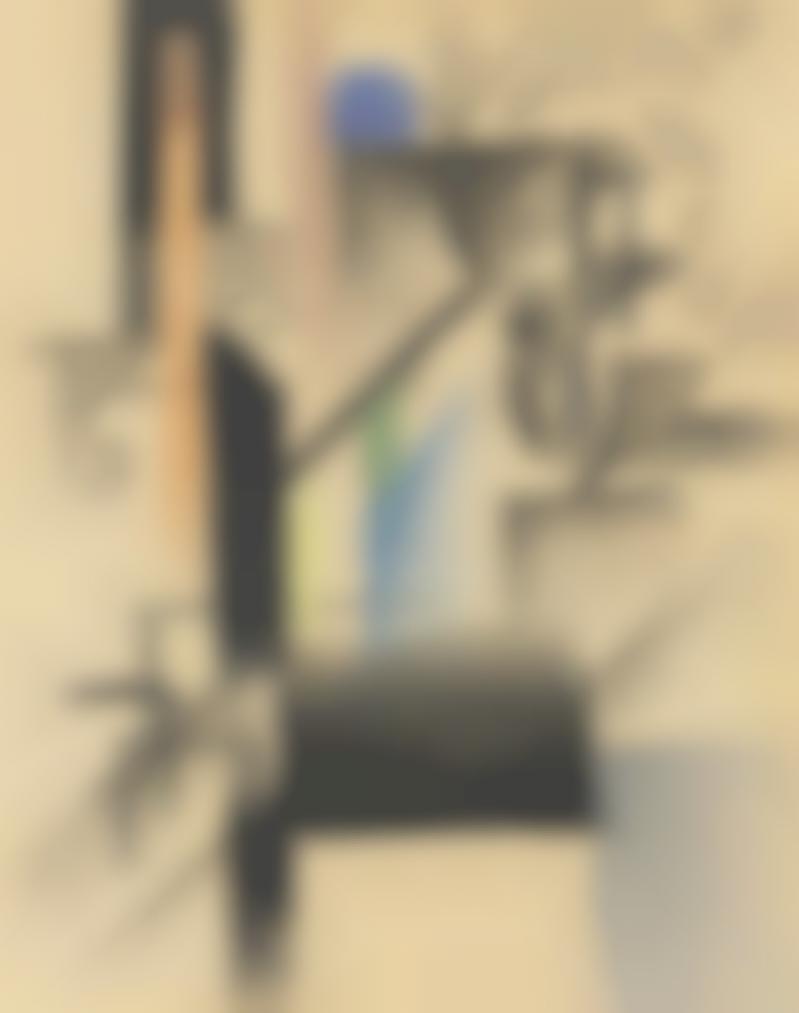 August Macke-Abstrakte Formen Xv-1913