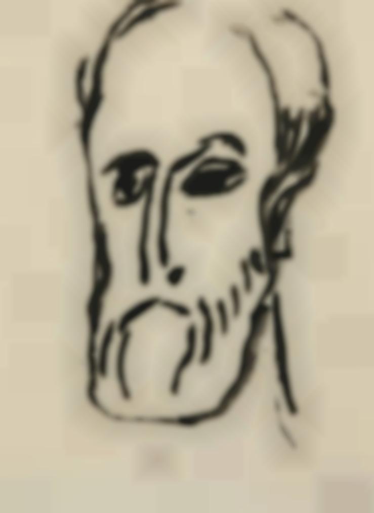 Emil Nolde-Apostelkopf-1912