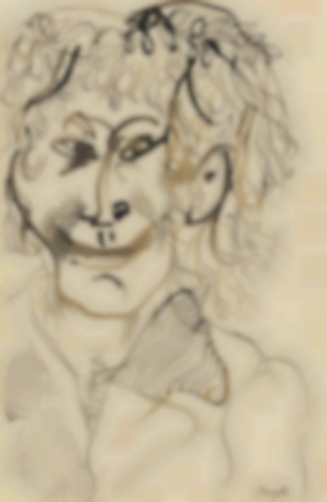Marc Chagall-Autoportrait-1927