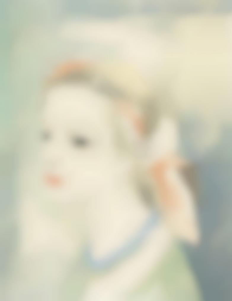Marie Laurencin-Jeune Fille Au Turban Perle-