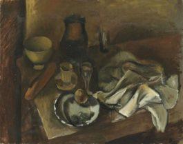 Andre Derain-Table Garnie-1922