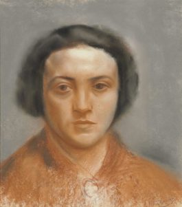 Andre Derain-Portrait Dalice Derain-1925