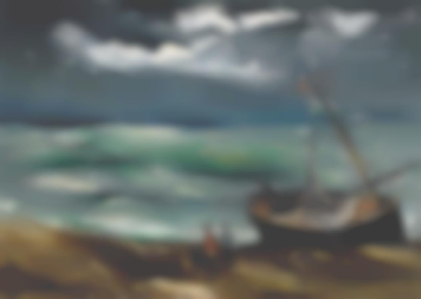 Maurice de Vlaminck-La Barque De Peche-1925