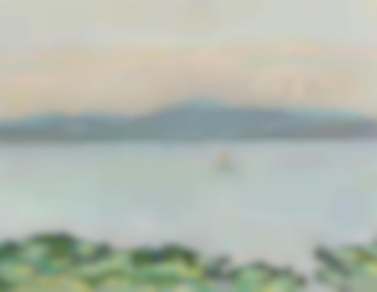 Pierre Bonnard-Le Golfe, Entre La Napoule Et Saint-Raphael-1912