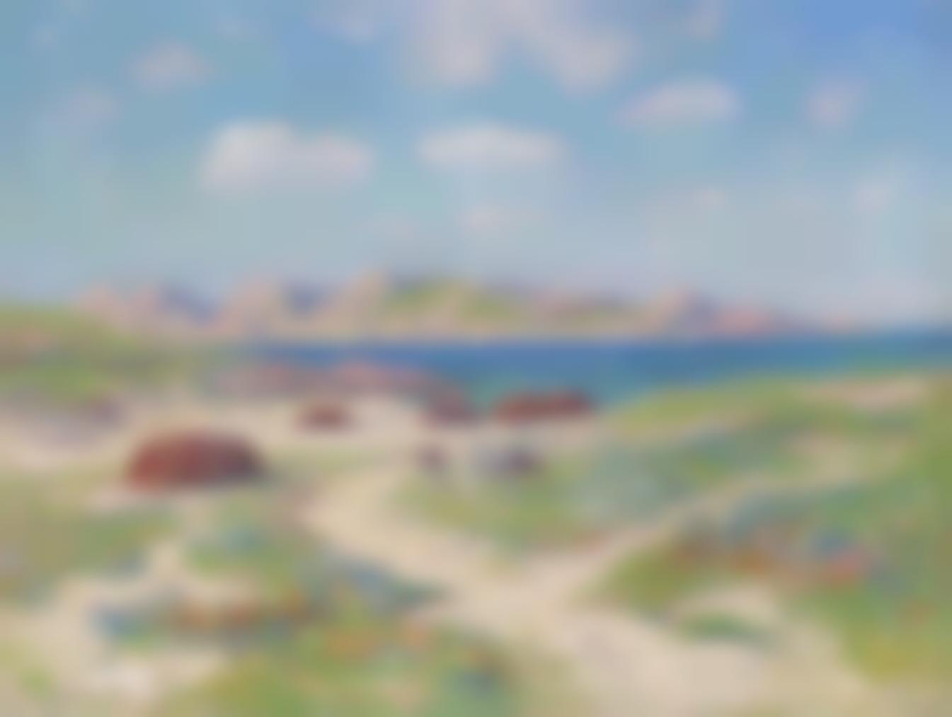Henry Moret-Les Dunes Dargenton, Finistere-1911