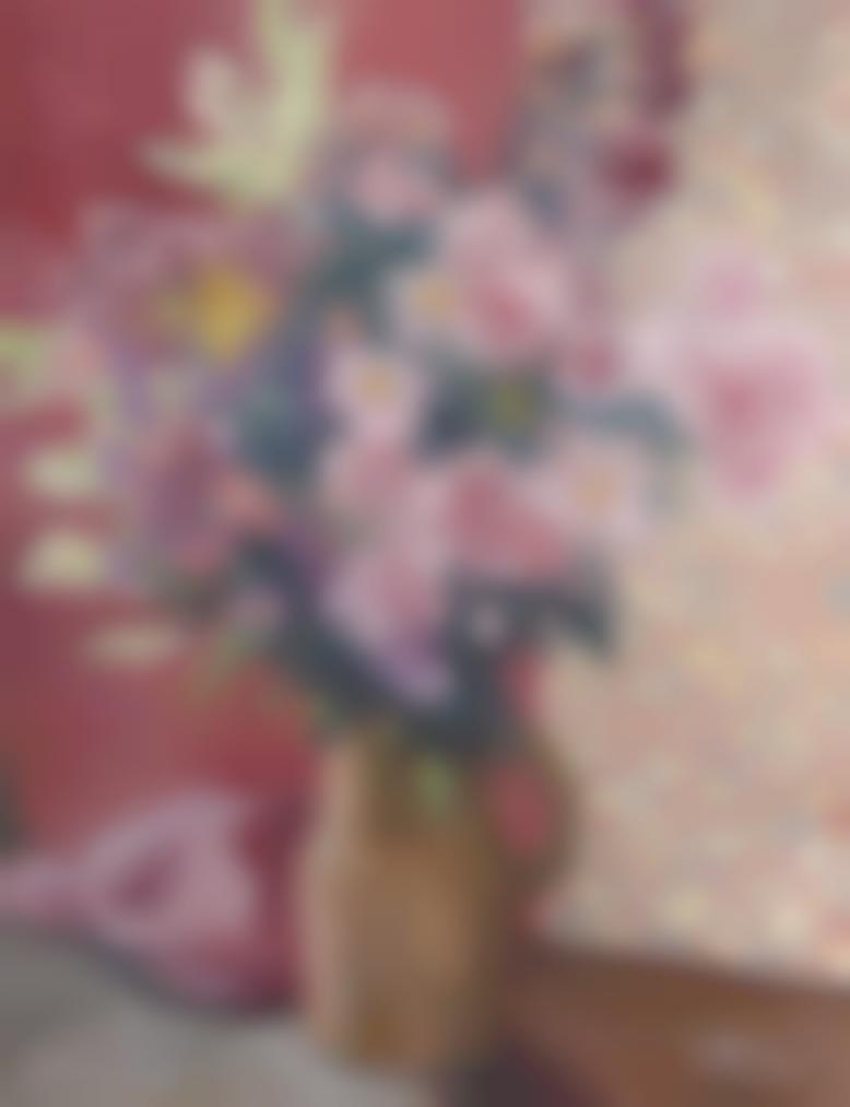 Louis Valtat-Fleurs Dans Un Vase-1933