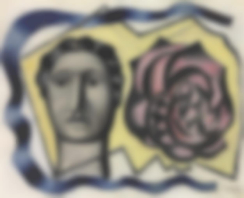 Fernand Leger-La Femme A La Rose-1931