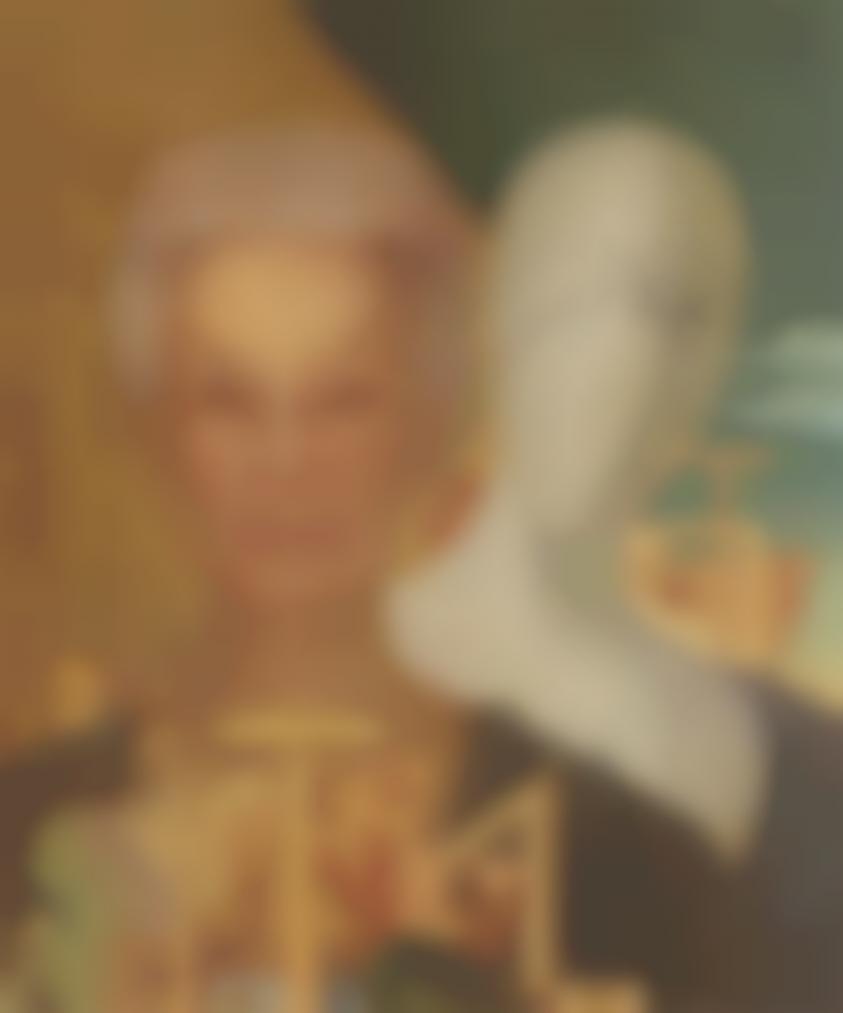 Giorgio de Chirico-Ritratto Della Signora Rondi Gariboldi-1973