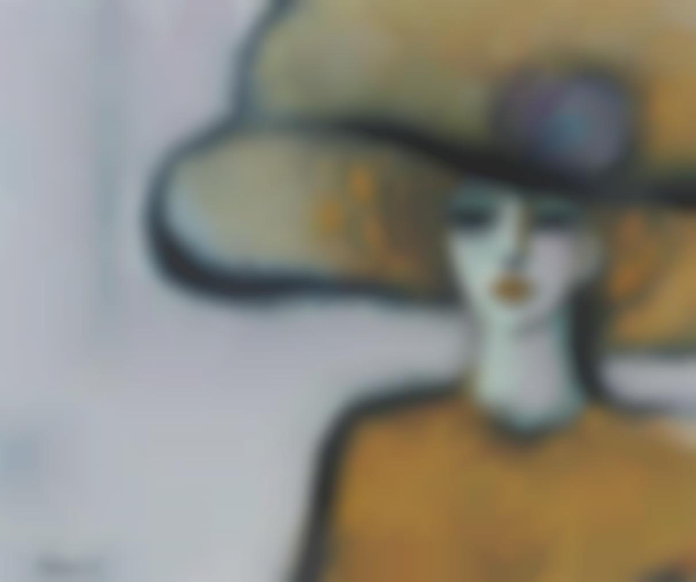 Jean-Pierre Cassigneul-Femme Au Chapeau-1969