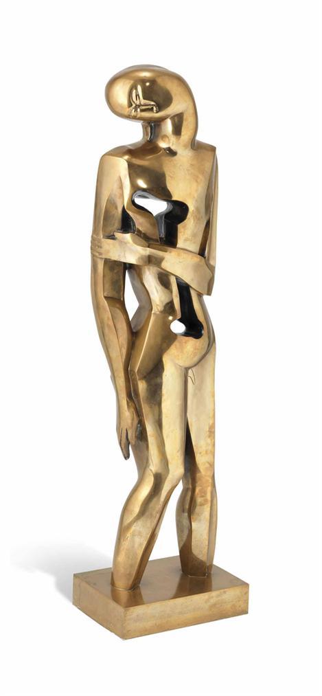 Ossip Zadkine-Adolescent-1957