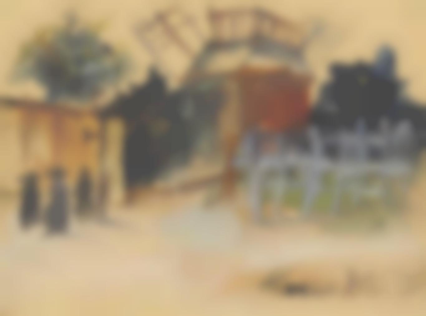 Maurice Utrillo-Montmartre, Moulin De La Galette-1928