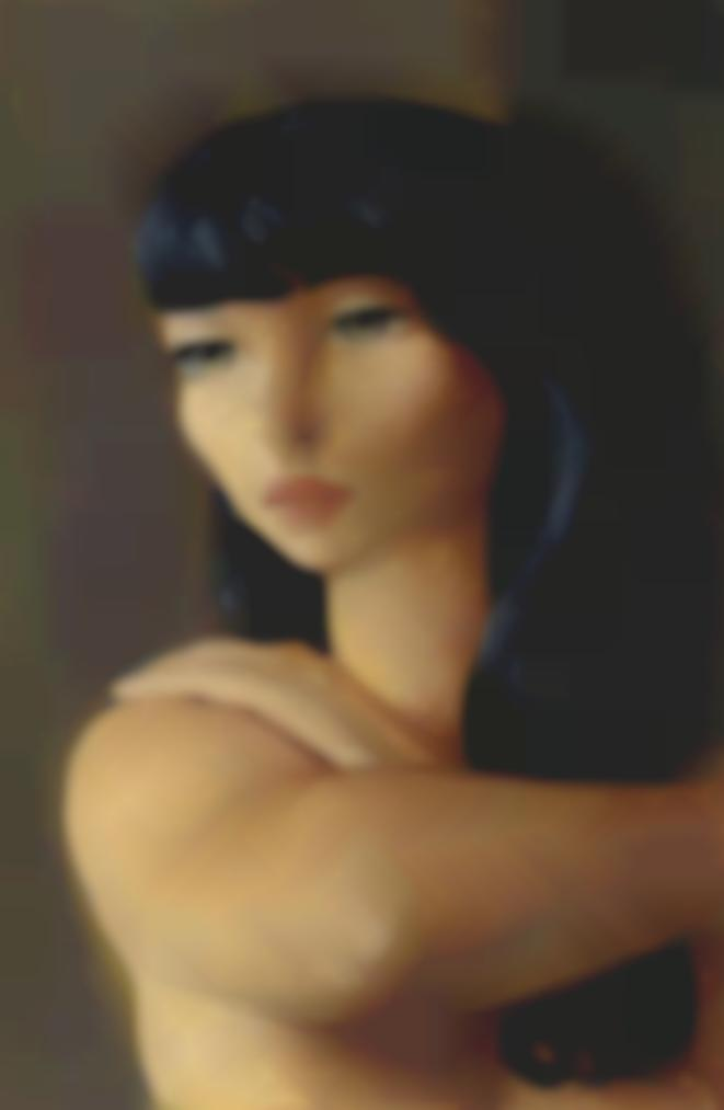 Moise Kisling-Petite Tete Brune-1930