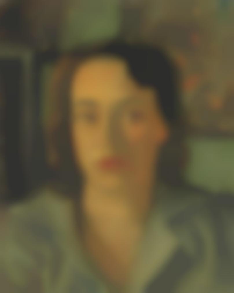 Andre Derain-Portrait De Femme-1950