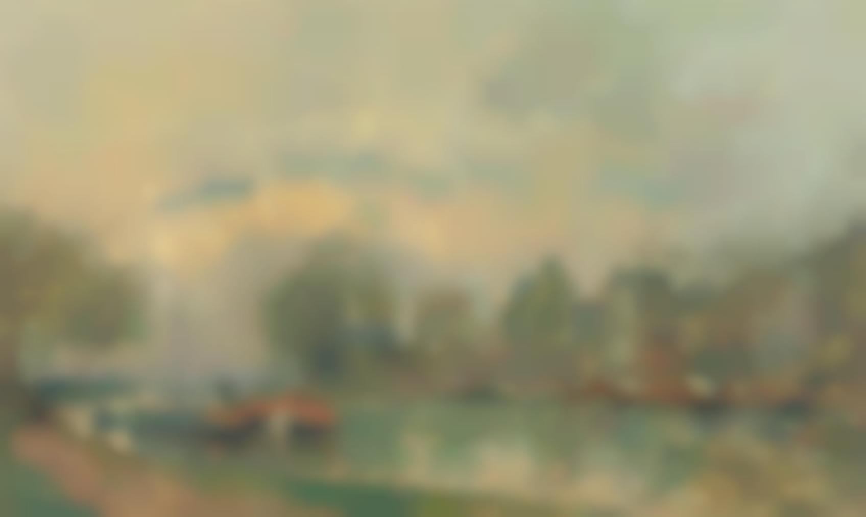 Albert Lebourg-Le Bassin A Charenton-