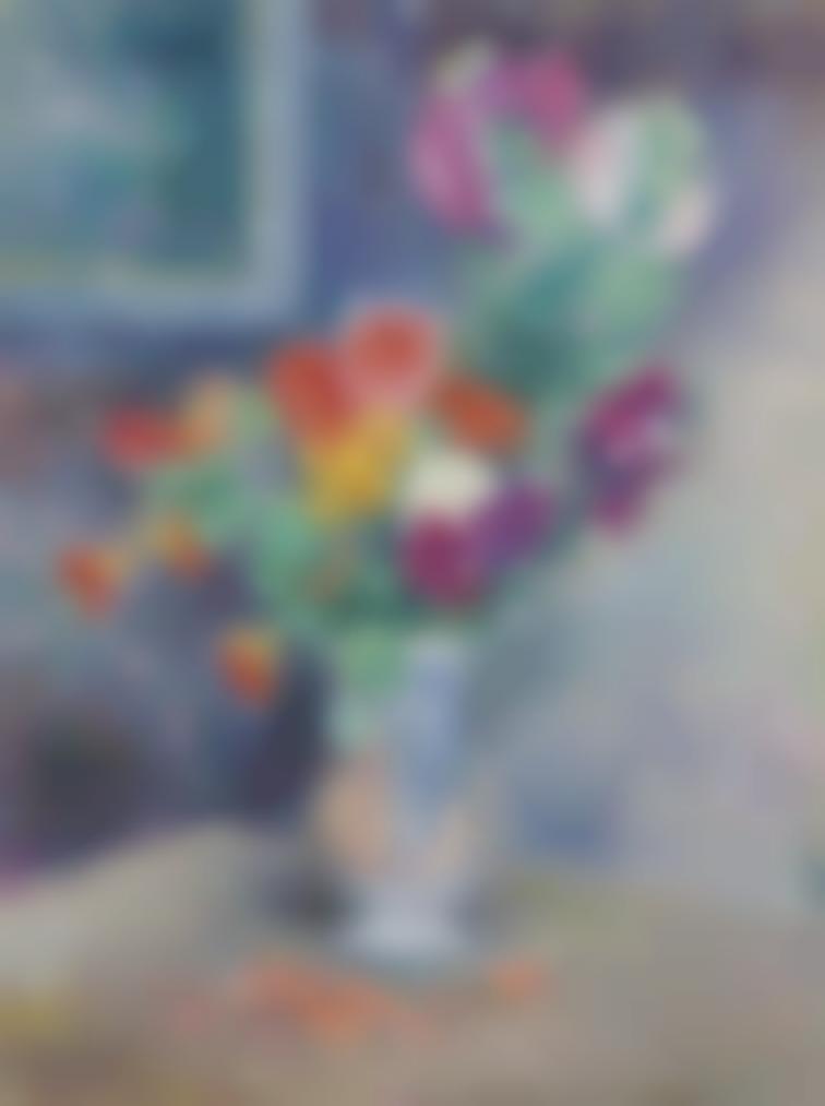 Henri Lebasque-Vase De Fleurs-1910