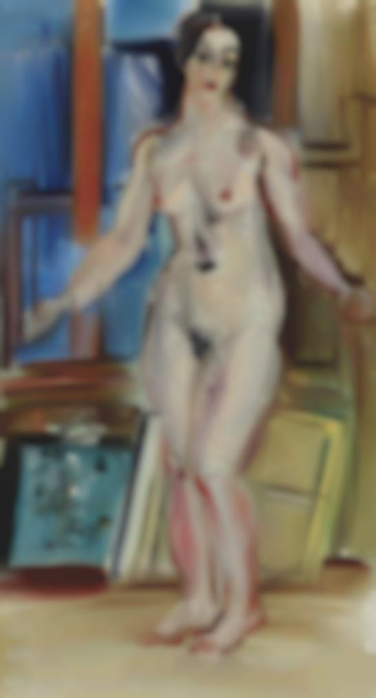 Raoul Dufy-Nu Debout-1939
