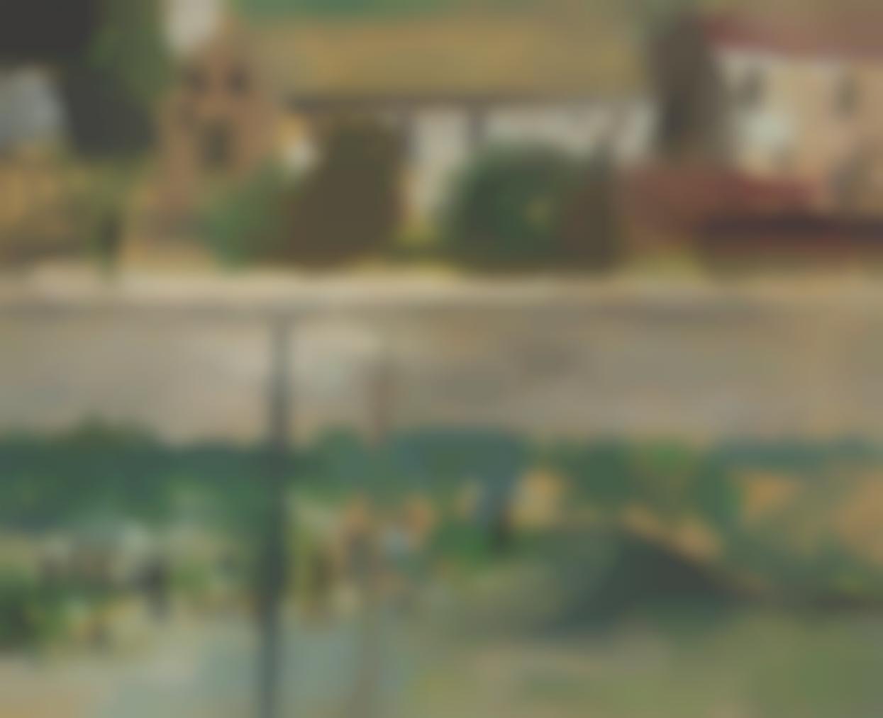 Filippo De Pisis - Paesaggio Col Fiume-1924