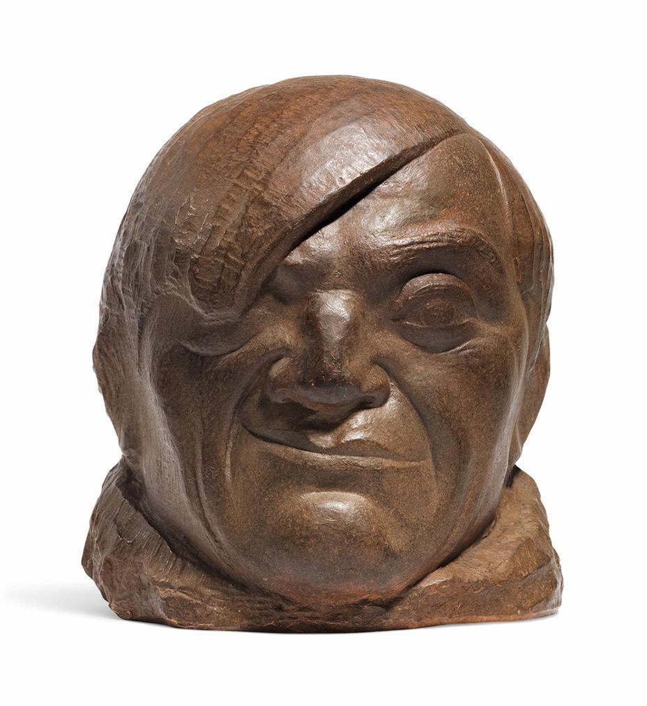 Pablo Gargallo-Masque De Picasso-1913